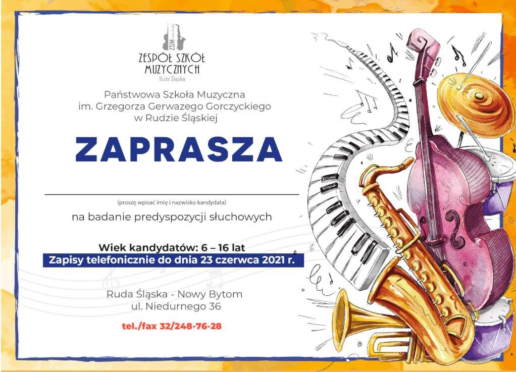 Zaproszenie muzyczna 1 F1022x1022